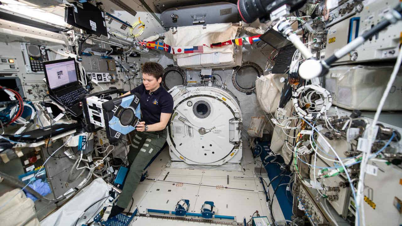nasa astronot iss