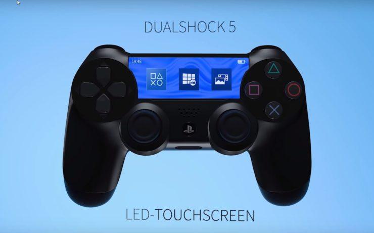 PlayStation 5 ve Yeni DualShock İçin Oluşturulan Etkileyici Konsept Tasarım