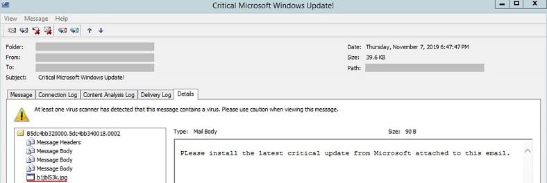 windows güncellemesi fidye virüsü