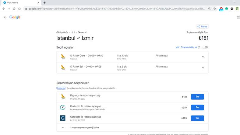 en ucuz uçak bileti istanbul