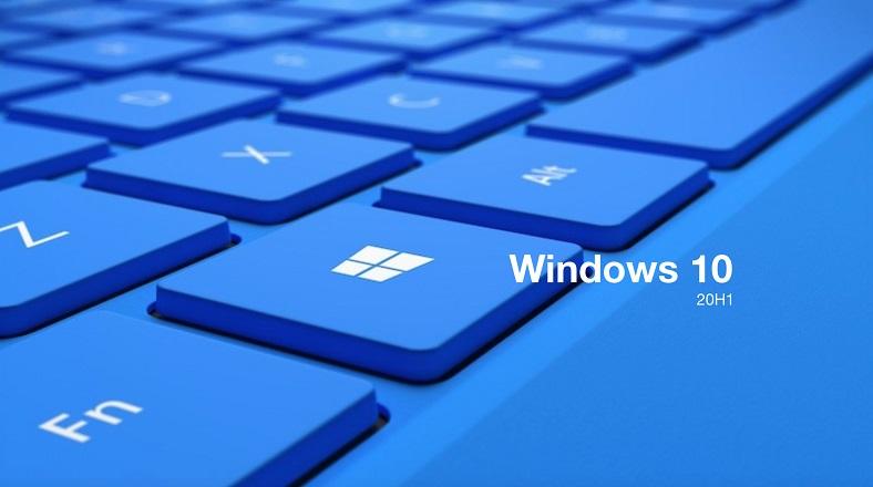windows 10 yapı numarası 2004