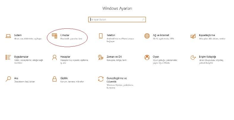 bilgisayar ekranı yansıtma