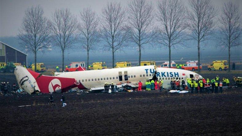 amsterdam kazası