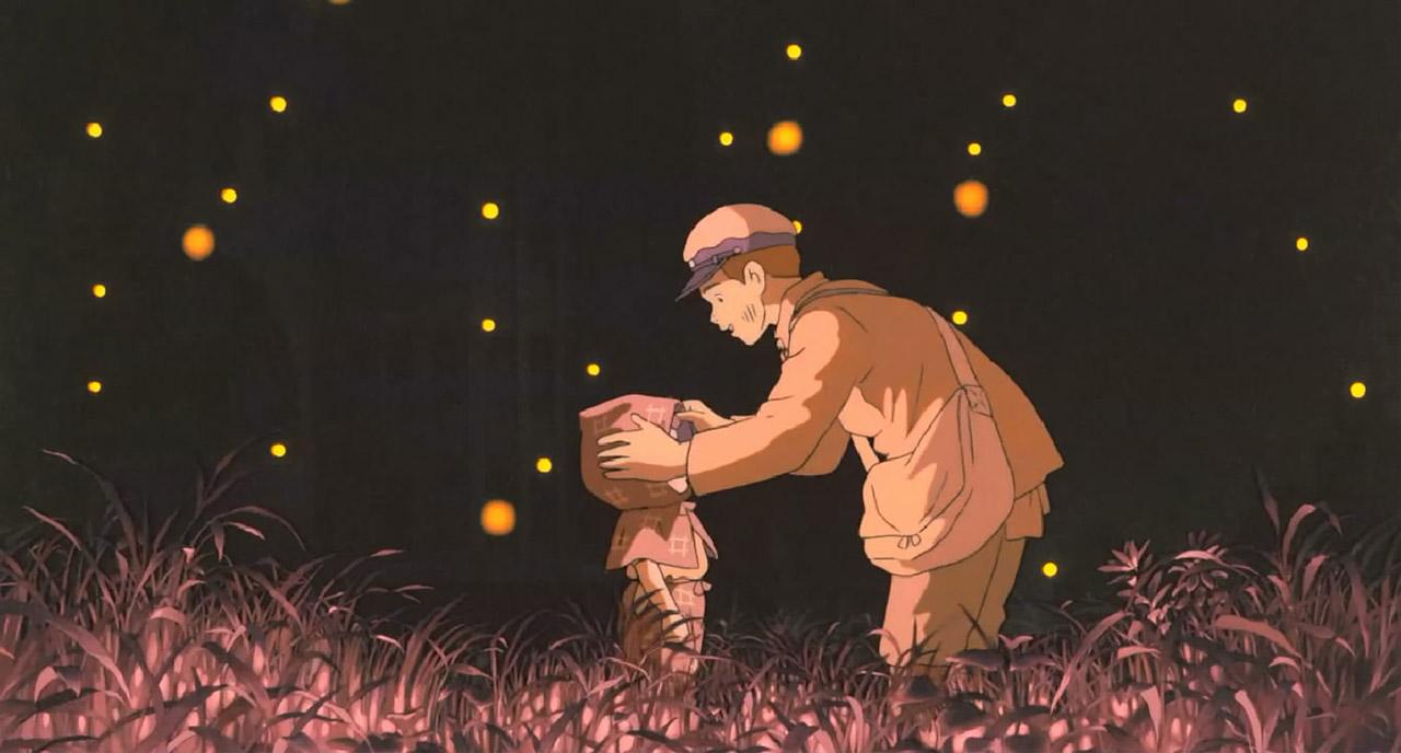 ateşböceklerinin mezarı anime film