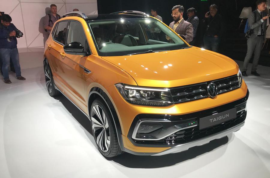 Volkswagen Taigun tanıtım