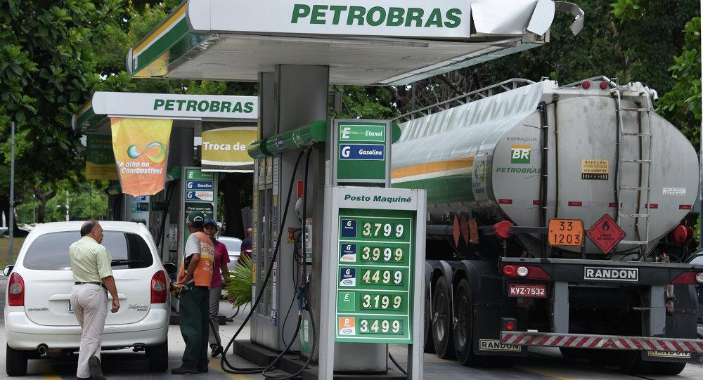 brezilya benzin istasyonu