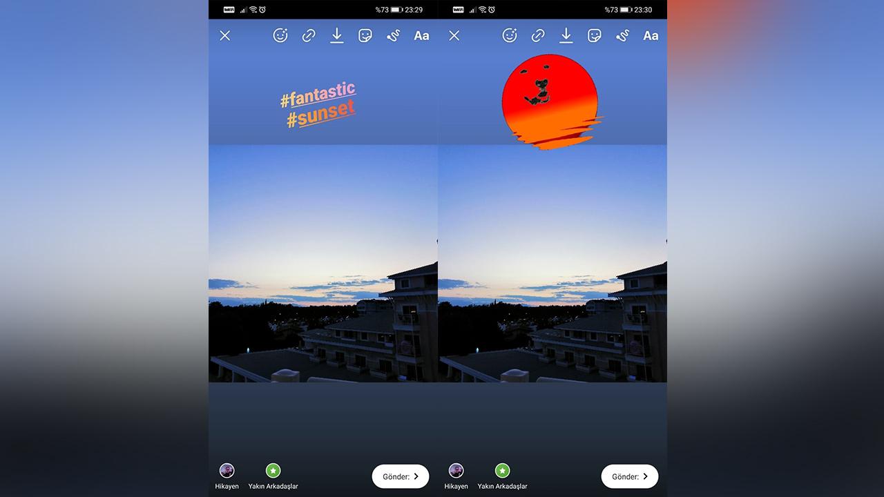 instagram hikayeler