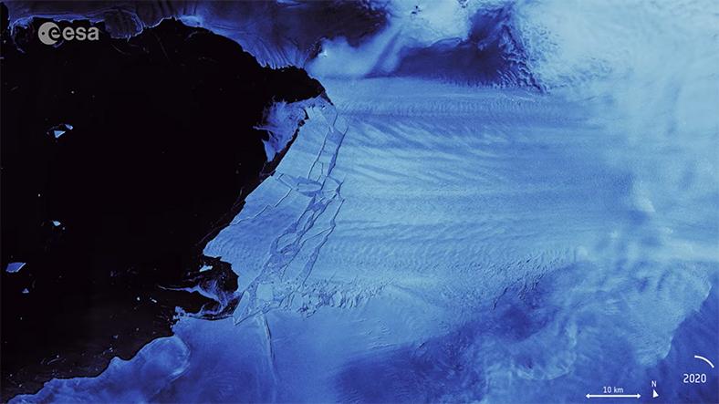 Pine Adası buzulu
