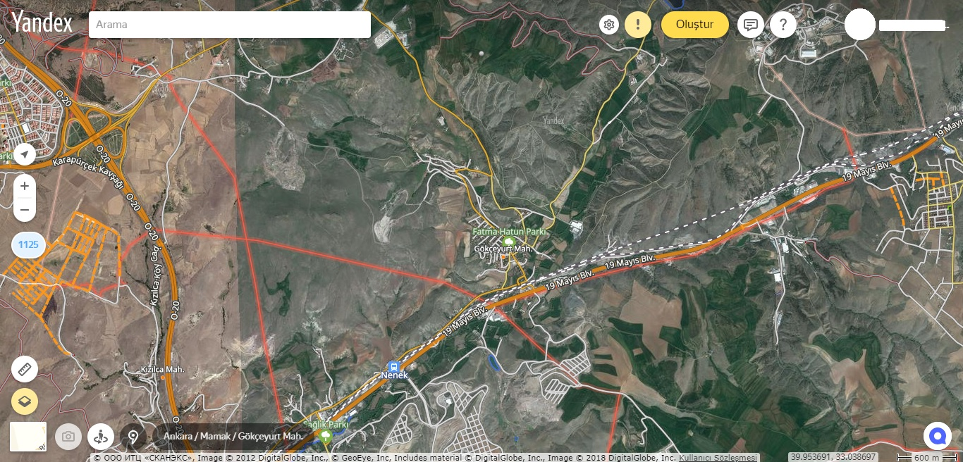 Yandex Haritalar
