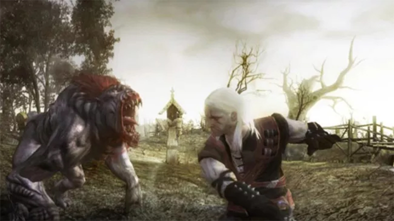 The Witcher canavar