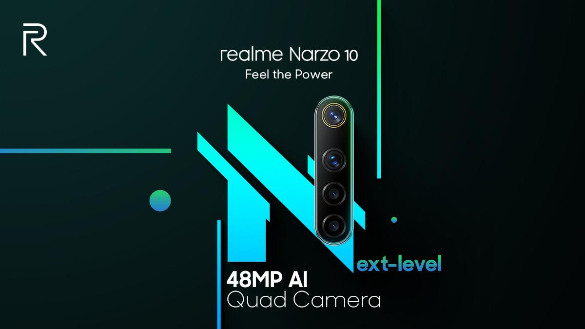 Realme Narzo 10 poster