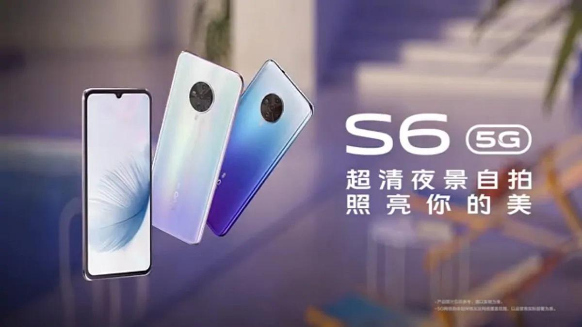 Vivo, Özçekim Konusunda İddialı Olan 5G'li Yeni Telefonu S6 5G'yi Duyurdu
