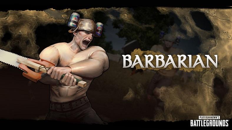 pubg, fantezi battle royale, barbar