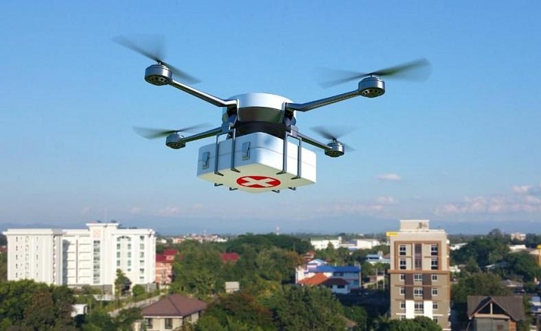 drone, ilaç teslimatı