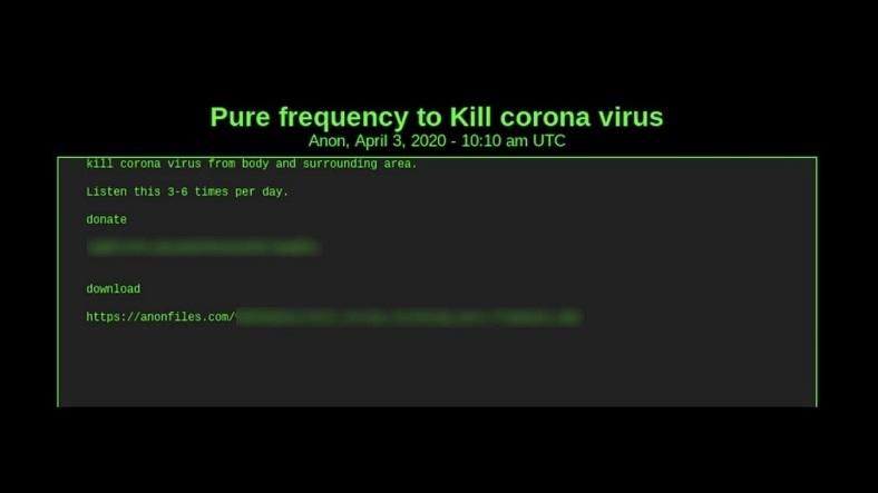 koronavirusu öldürən MP3
