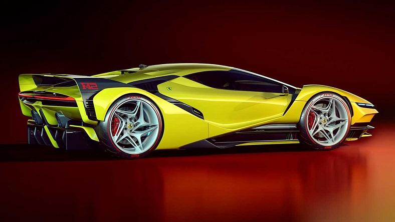 Ferrari F40 Efsanesini Yeniden Hayata Döndüren F42 Konsepti