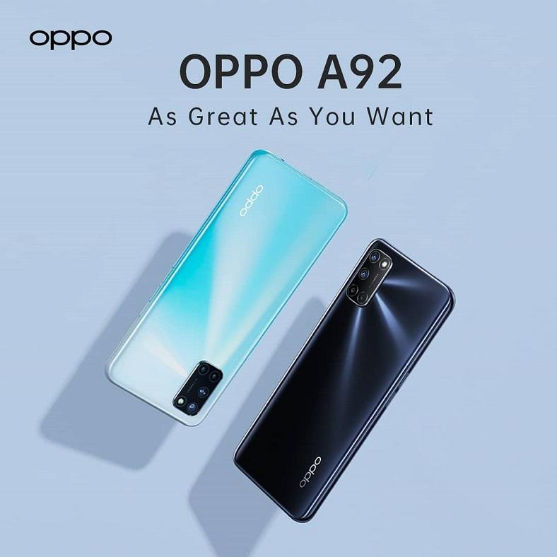 Oppo A92 Tanıtıldı: İşte Fiyatı ve Özellikleri