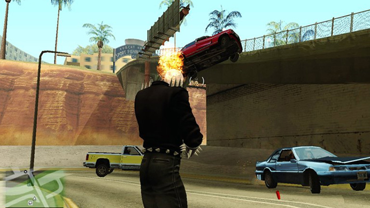 Ghost Rider San Andreas