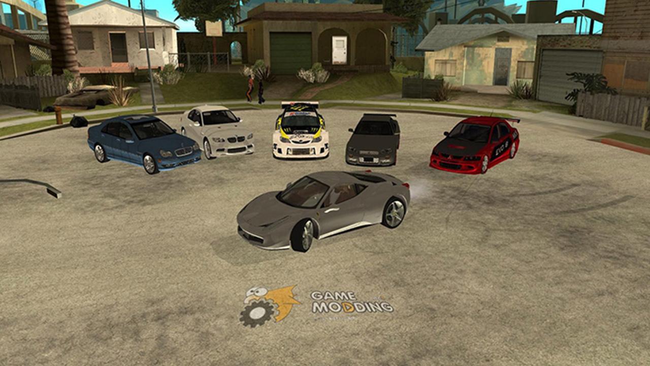 San Andreas Car Pack