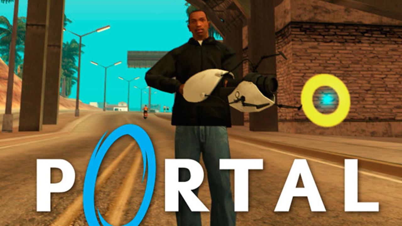 Portal Gun for San Andreas