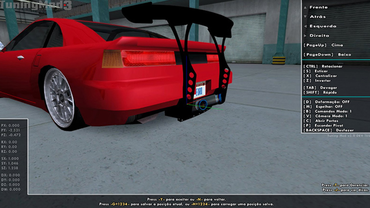Tuning Mod GTA San Andreas