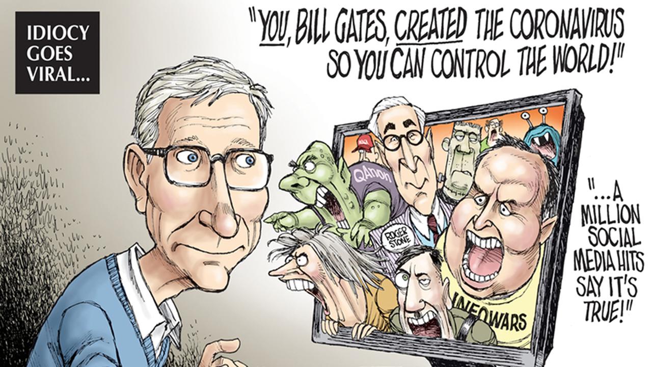 Bill Gates Karikatür