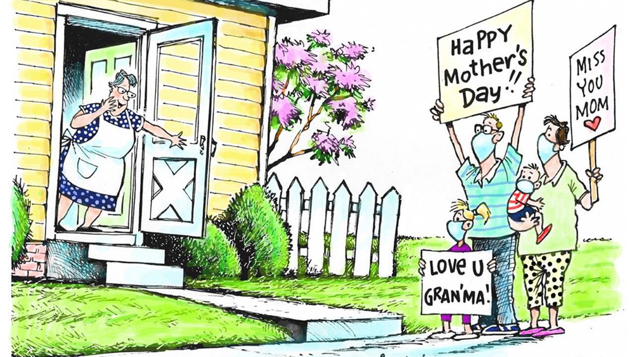 Anneler Günü Karikatür