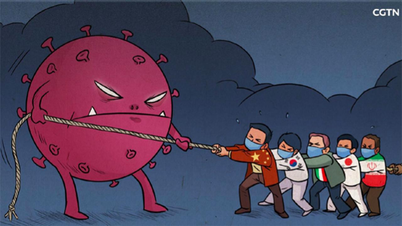 Koronavirüs Karikatür