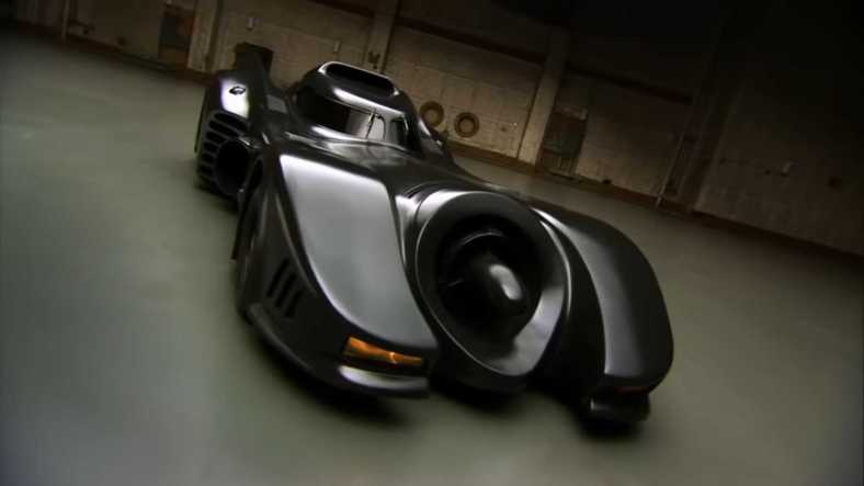 1989 Michael Keaton Batmobile