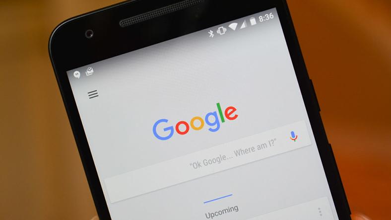 Google Arama uygulaması