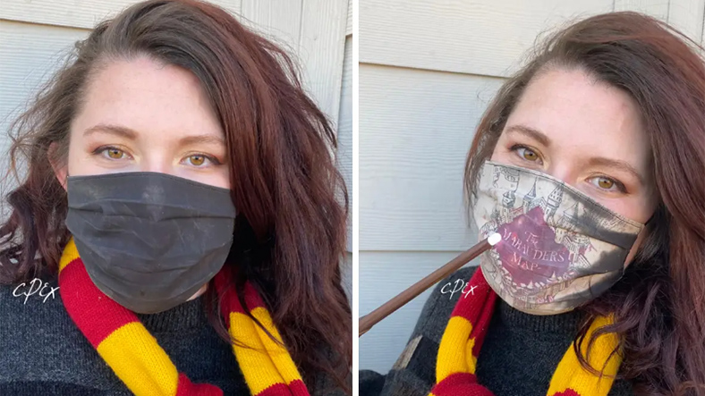 harry potter maske