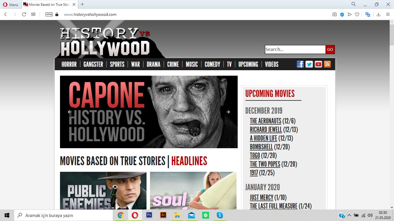 historyvshollywood.com ile filmlerin gerçek hikayelerini öğrenin