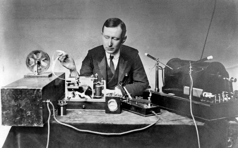 marconi radyotelegrafı