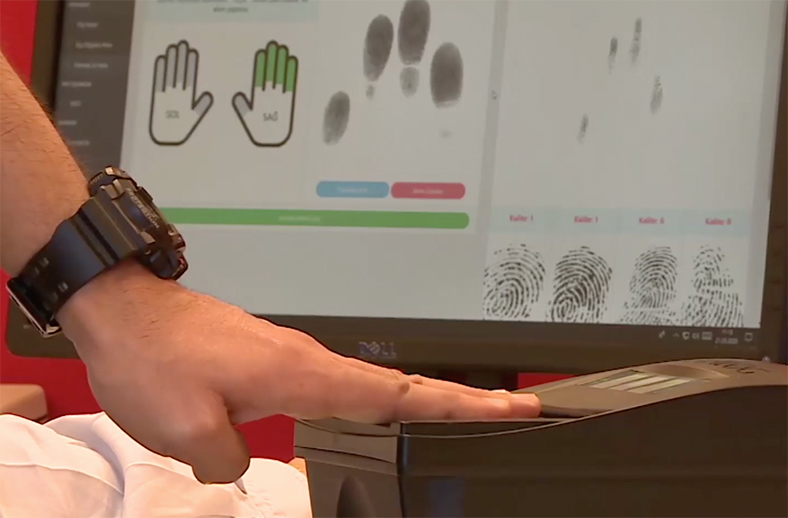 yerli parmak izi tanıma sistemi