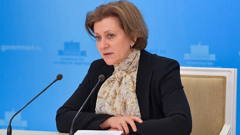 Rospotrebnadzor Başkanı Anna Popova