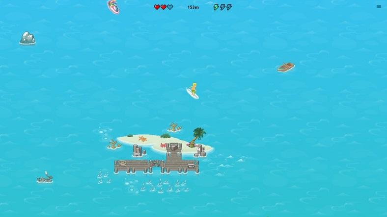 microsoft edge sörf oyunu