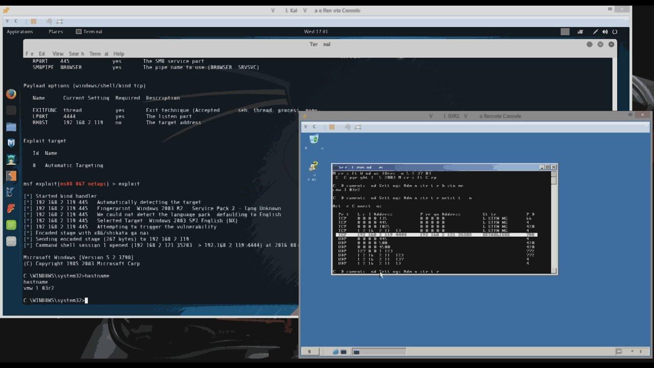 metasploit hack programı