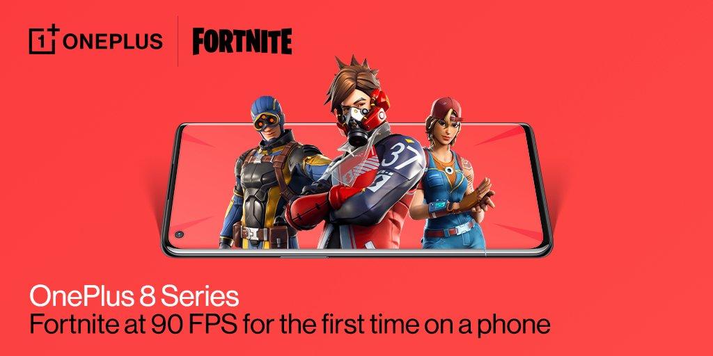 OnePlus 8 Fortine