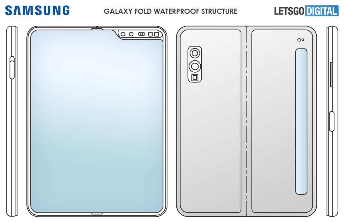 Galaxy Fold 2 patent