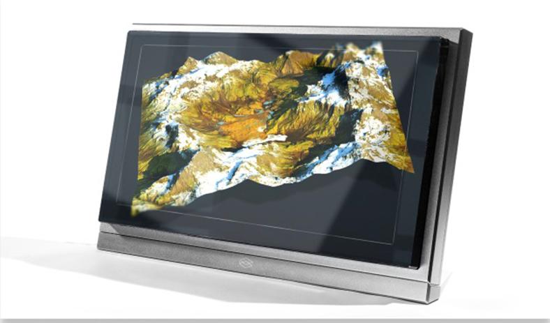 8K holografik ekran