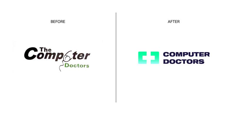 the computer doctors logosu