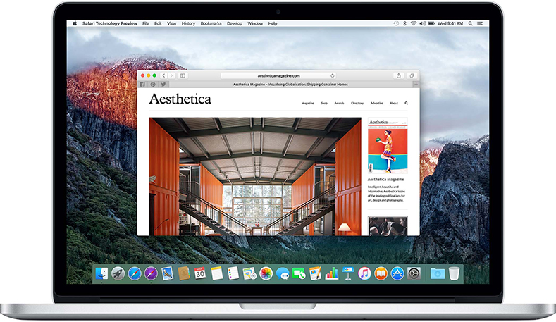 Safari Technology Preview