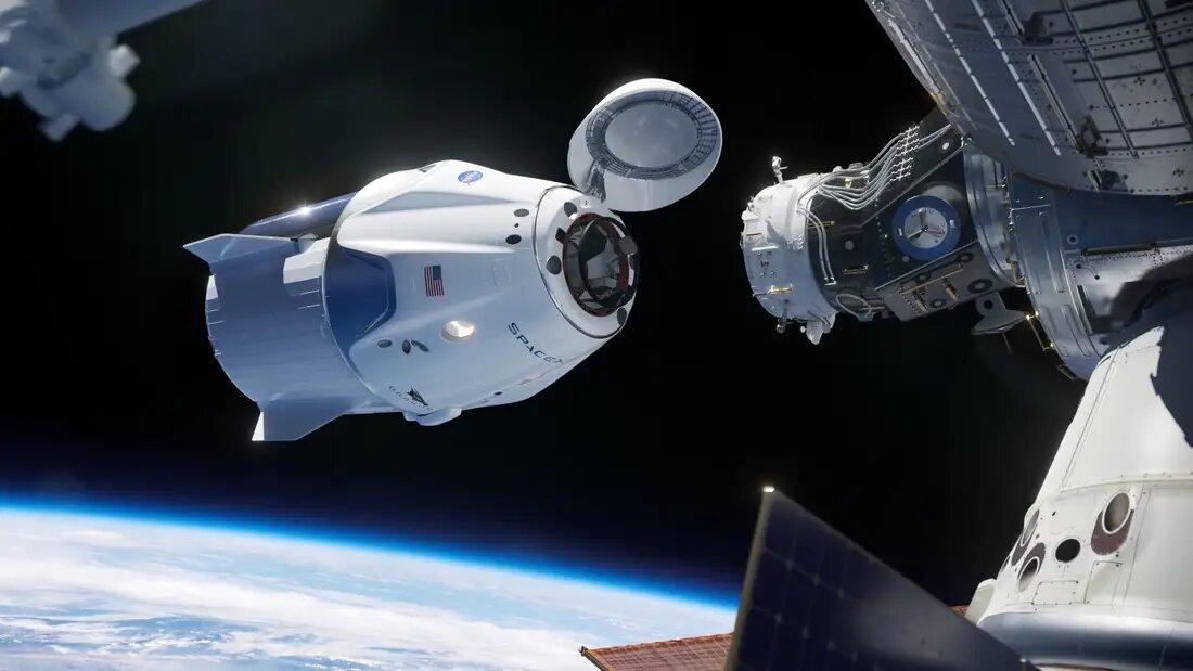 uzay istasyonu kenetlenme