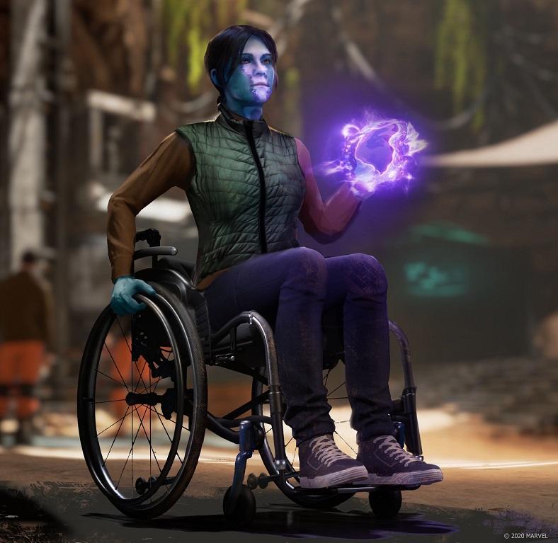 marvel's avengers inhuman cerise