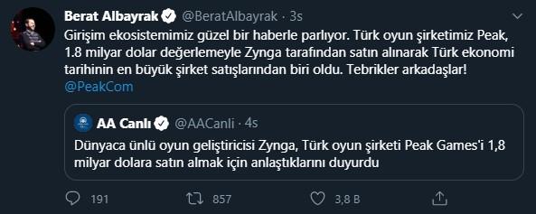 berat albayrak peak games