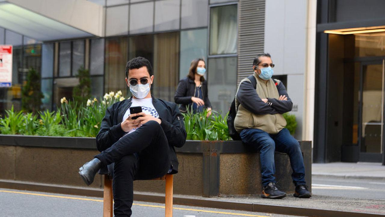 Maske kullanımı ve dinlenmek