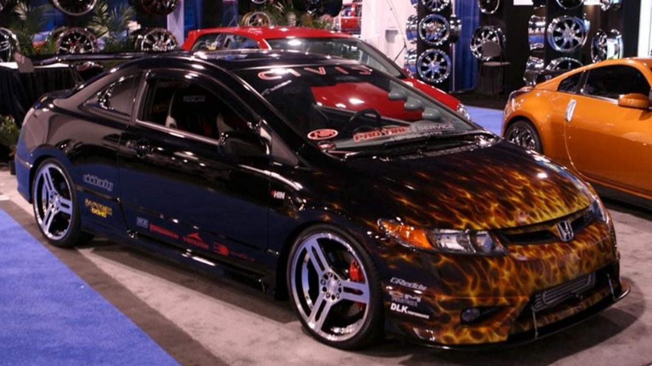 Honda Civic alevli