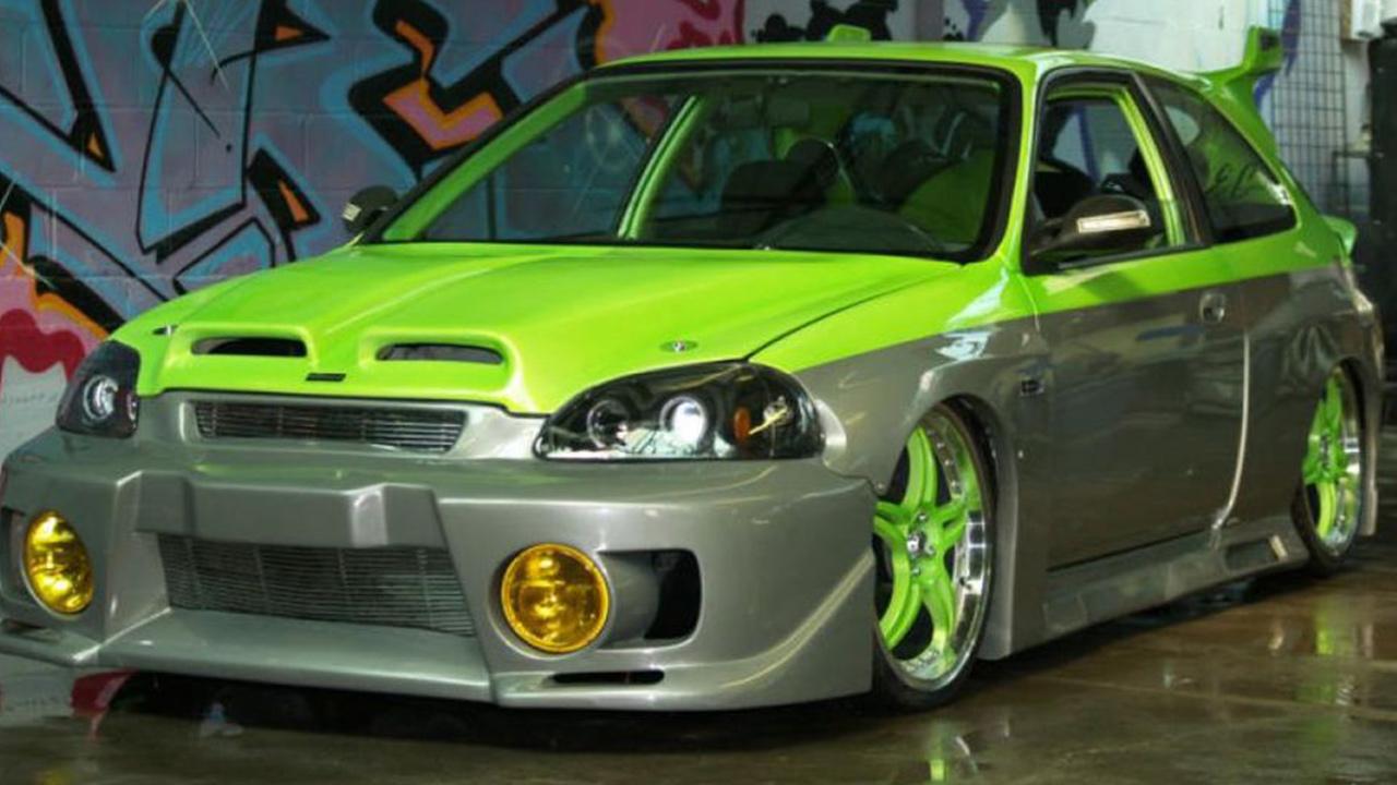 Honda Civic yeşil