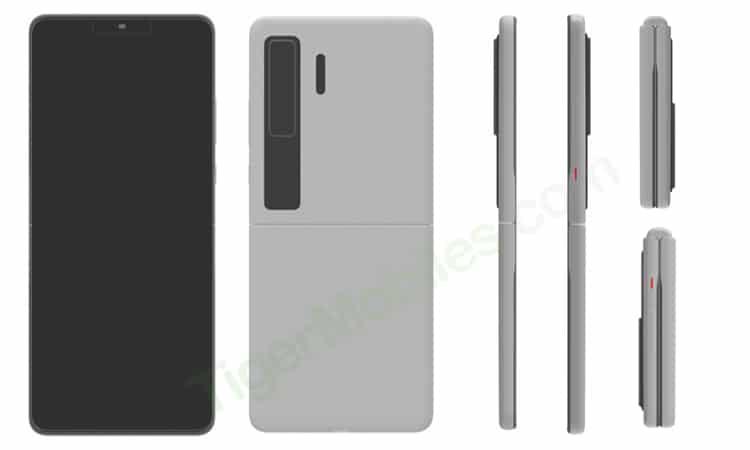 Huawei, Samsung Galaxy Z Flip Gibi Katlanabilen Bir Telefon Üzerinde Çalışıyor