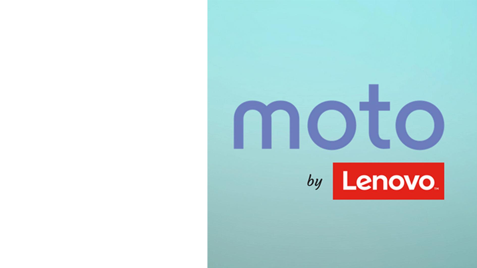 Moto by Lenovo Logo
